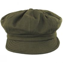 Montreal Cotton Unstructured Baker Boy Cap alternate view 6