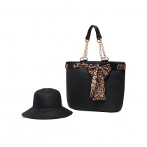 Serengeti Toyo Straw Bag and Hat Set alternate view 8