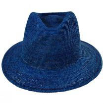 Messer Crochet Raffia Straw Fedora Hat alternate view 18
