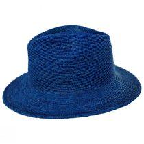 Messer Crochet Raffia Straw Fedora Hat alternate view 19