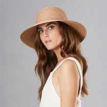 Delphina Raffia Straw Braid Swinger Sunhat alternate view 2