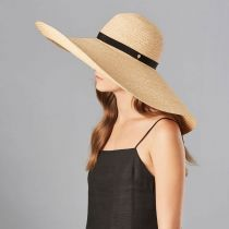 Gillen Raffia Braid Oversized Wide Brim Sunhat alternate view 4