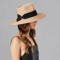 Plath Raffia Braid Fedora Hat in