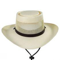 Madrid Laminated Toyo Gambler Hat alternate view 2