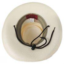 Madrid Laminated Toyo Gambler Hat alternate view 4