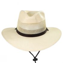 Florence Laminated Toyo Western Hat in