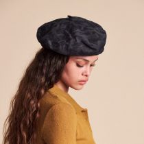 Audrey II Camo Cotton Blend Beret alternate view 5