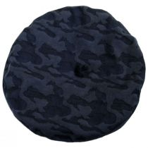 Audrey II Camo Cotton Blend Beret alternate view 7