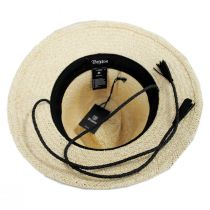 Layover Palm Straw Fedora Hat alternate view 4