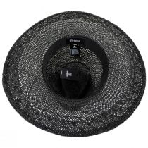 Joanna Embroidered Palm Straw Fedora Hat alternate view 10