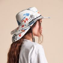 Louise Neck Flap Cotton Aussie Hat alternate view 6