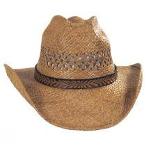 Reid Raffia Straw Vent Western Hat alternate view 6