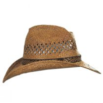 Reid Raffia Straw Vent Western Hat alternate view 7