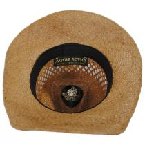 Reid Raffia Straw Vent Western Hat alternate view 12