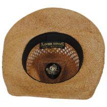 Reid Raffia Straw Western Hat in