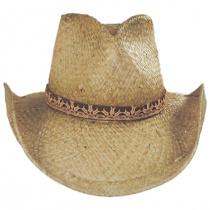 Cosmo Raffia Straw Western Hat alternate view 2