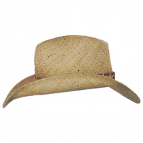 Cosmo Raffia Straw Western Hat alternate view 3