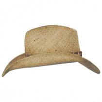 Cosmo Raffia Straw Western Hat in
