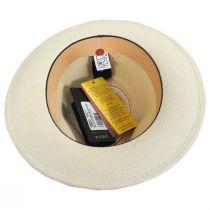William Grade 18 Panama Straw Fedora Hat in