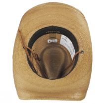 Contoy Palm Straw Western Hat in