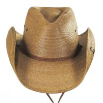 Contoy Palm Straw Western Hat alternate view 10