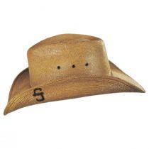 Contoy Palm Straw Western Hat alternate view 11
