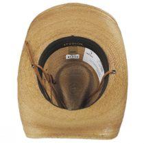 Contoy Palm Straw Western Hat alternate view 12