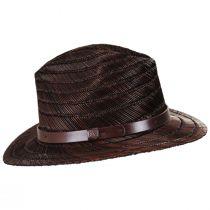 Messer Rush Straw Fedora Hat alternate view 7