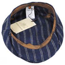 Striped Linen Blend Ivy Cap alternate view 8