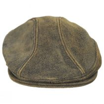 Antique 1900 Leather Ivy Cap alternate view 2