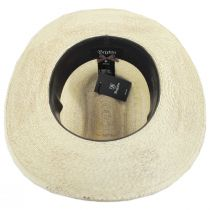 Vasquez Palm Leaf Straw Cattleman Western Hat in