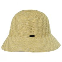 Gossamer Toyo Straw Blend Cloche Hat alternate view 15