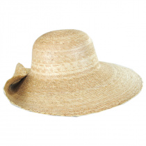 Hailey Palm Straw Off Face Sun Hat alternate view 3