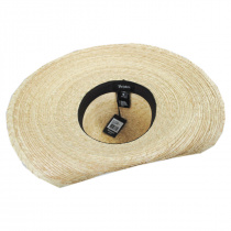 Hailey Palm Straw Off Face Sun Hat alternate view 4