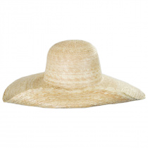 Hailey Palm Straw Off Face Sun Hat alternate view 6