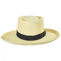 Panama Straw Gambler Hat alternate view 2