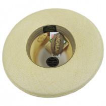 Panama Straw Gambler Hat in