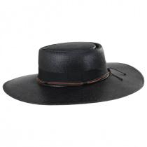Bohemian Toyo Straw Gaucho Hat alternate view 3