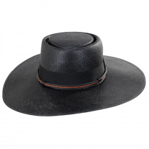 Bohemian Toyo Straw Gaucho Hat alternate view 6
