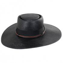 Bohemian Toyo Straw Gaucho Hat in