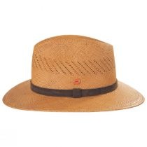 Piero Grade 3 Panama Straw Fedora Hat alternate view 3