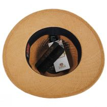 Piero Grade 3 Panama Straw Fedora Hat alternate view 4