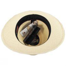 Torino Grade 3 Panama Straw Fedora Hat in