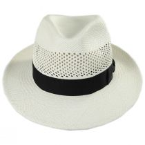 Imperia Grade 2 Panama Straw Fedora Hat in