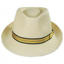 Henrik Grade 3 Panama Straw Fedora Hat in