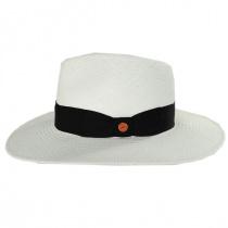 Nizza Grade 8 Panama Straw Fedora Hat in