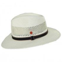 Pieter Grade 3 Panama Straw Fedora Hat in