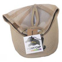 High Ponytail Happy Camper Mesh Adjustable Baseball Cap alternate view 16