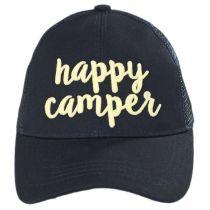 High Ponytail Happy Camper Mesh Adjustable Baseball Cap alternate view 18