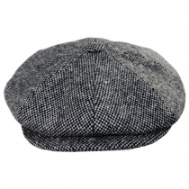 Galvin Wool Tweed Newsboy Cap alternate view 2